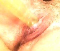 ftm transman masturbating fucking pussy