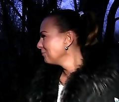Public Agent Alicia Wild Shows her Tits and Fucks his Cock