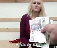 Teen European Grl Fucks For Ripping In Public 05