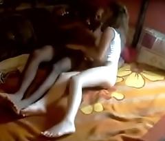 White girlfriend loves their way BBC