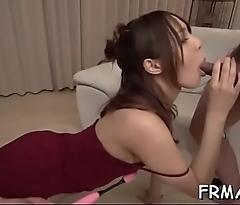 Tantalizing japanese oral job