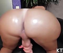 Shemale'_s wazoo gets pounded hard
