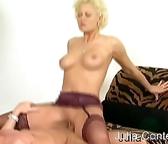 Blonde Mr Big brass gets fucked