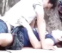 Hot Japanese Copule Sex on Public