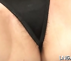 Floozy in underware strip tease