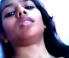 Indian desi lady Making Selfie Video For her Boy Friend
