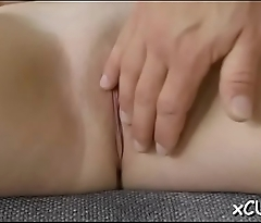 Large titted slut'_s bawdy cleft banged