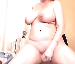 Curvaceous cum doll Jen with booty and huge epic boobs