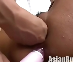 Asian squirts while being fingered &amp_ fisted