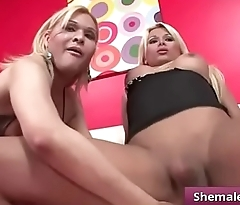 Tranny Threeways (Sharon &amp_ Yeina) video-02