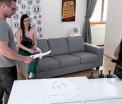EXPOSED CASTING - Steamy hardcore audition with Czech teen spoil Amanda Elevation