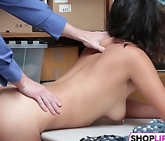 Big Dick For Sweet Teen Shoplifter