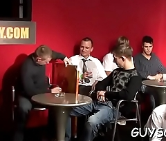 Stunning homosexual anal party
