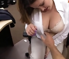 Foxy business woman drilled by pawn dude