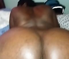 BELLE femme Black se faire prendre en leuvrette
