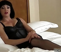 You are going to look so pretty as a sissy cookie