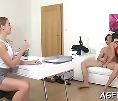 The brightest orgasms for female agent