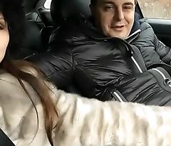 La Leading actress Del Tubo-Lady Mesmeratix with Andrea Dipre'_!!! Crazy sexy car.