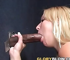 Bazaar Ruth Blackwell Jerks And Sucks Black Cock - Gloryhole
