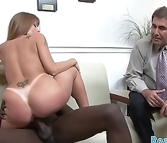 Cuckolding milf gets fucked in realsex performance