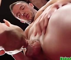 Deepthroat wrestling sub rims dominating hunk