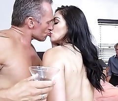 Lea Lexis Gets Set Up With Another Man Joining Her Cuckold Husband