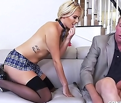 Summer Day Has Eradicate affect Hots For Her Tutor and Finally Seduces Him