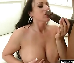 Cute Horny Milf (moxxie maddron) Enjoy Hard Black Cock In Mixt Sex mov-18