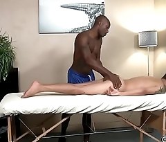 Big Ebony Cock Massage - Alan Kennedy, Osiris Sword