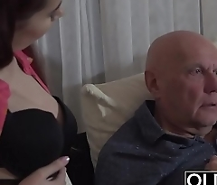 Sugar Daddy Fucks Step-Daughter Tight Pussy Goes Deep Inside Their way
