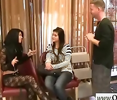 Gorgeous Hot Girl (Esmi Lee&amp_Monica Rise) For Money Rumble Fast On Camera mov-14