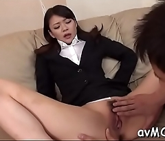 Pulchritudinous mommy i'_d like to fuck realize cunt smashed