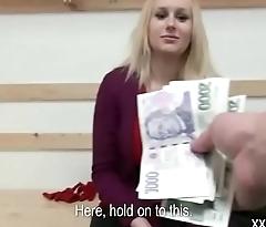 Public Fuck WIth Amateur Teen Euro Slut For Cash 05
