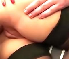 Hot Marijke gets fucked in enclosing holes