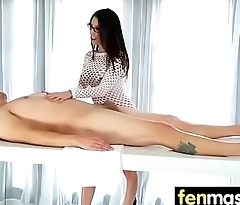 Massage and Gorgeous Passionate sex 25