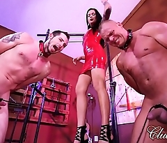 Pussy Whipped by Mistress Maria/Mistress Maria'_s Tug Of Balls