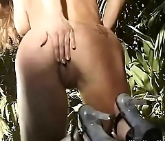 Wife Exposing All In The Jungle