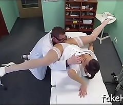 Wild intercourse with a wicked doctor