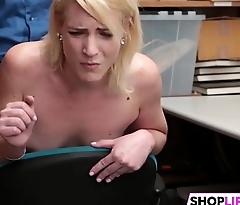 Shoplifting Teen Gets Inspected