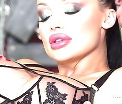 Aletta Ocean - Black Leather Double Pleasure - alettAOceanLive