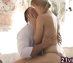 Sweet babe sensual fuck