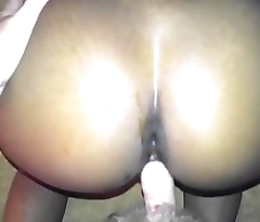 Interracial POV Amazing ass ebony takes white cock - Imanityler.com