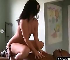 Slut Mature Lady (honey white) Love To Suck And Ride Mamba Black Cock mov-21