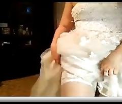bride gets fucked