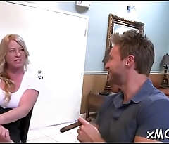 Slutty milf can'_t live without that dick
