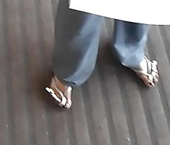 Hood Chick Purple Toes