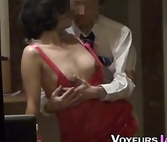 Asian housewife nailed