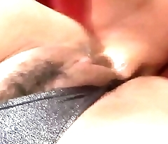 Rui Shiina ends naughty toy porn with cum on face