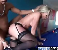(lisa demarco) Horny Slut Mature Lady Ride Black Big Long Hard Detect clip-09