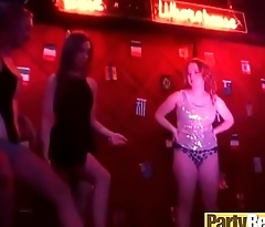 (nicki &amp_ ryan &amp_ tiffany) Lovely Categorical Girls At Party Get In Group Sex Tape clip-19